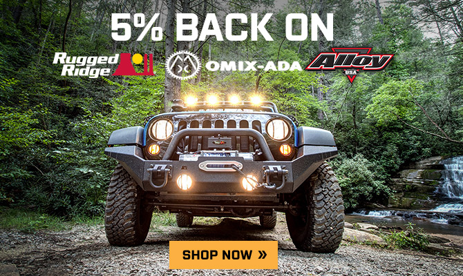 Rugged Ridge, Omix-Ada, Alloy Wrangler Special