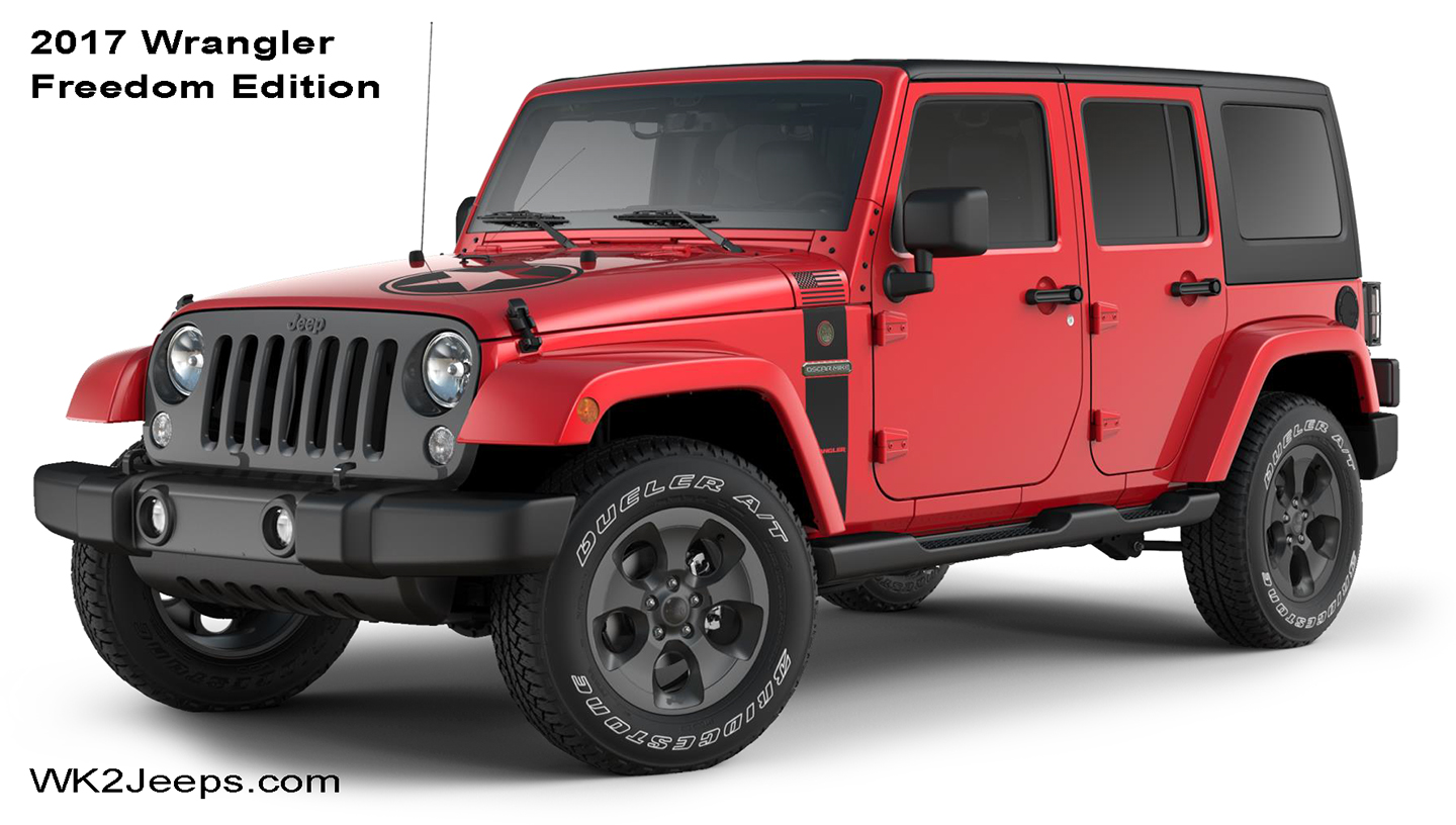 Ing Soon 2017 Jk Wrangler Special Edition Jeeps