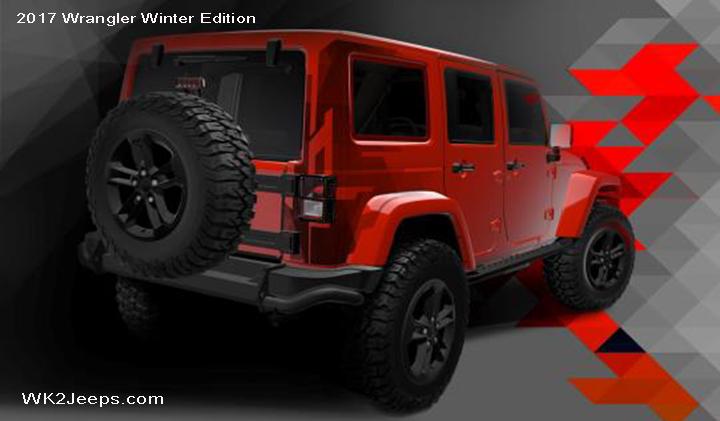 coming soon 2017 jk wrangler special edition jeeps. Black Bedroom Furniture Sets. Home Design Ideas