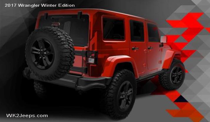 Coming Soon 2017 Jk Wrangler Special Edition Jeeps