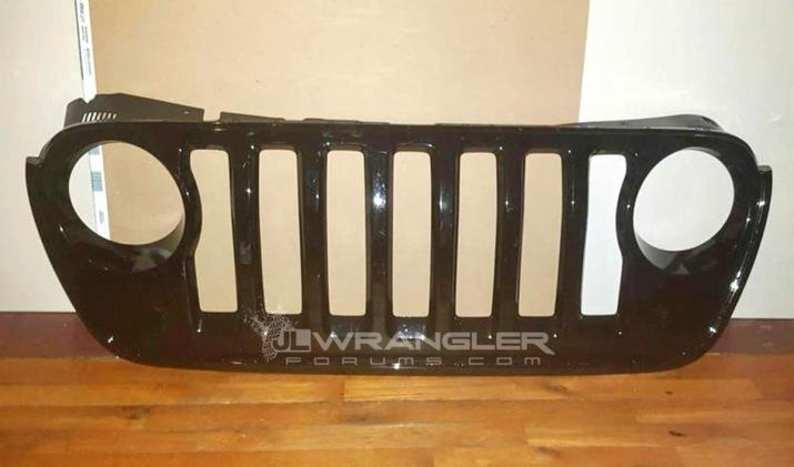 2018 JL Wrangler Grille