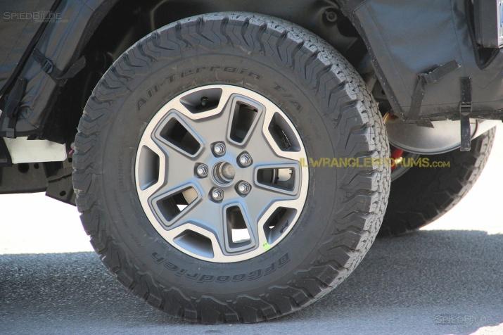 2018 Wrangler Tires