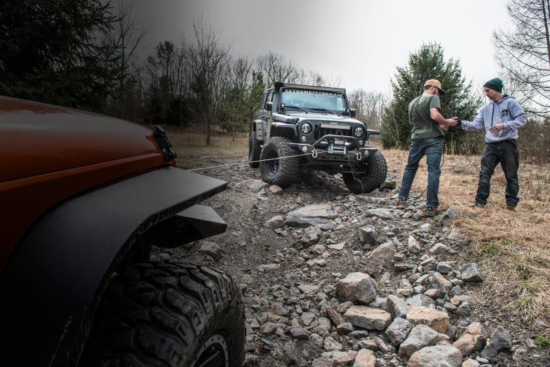 Jeep Wrangler Rock Crawling
