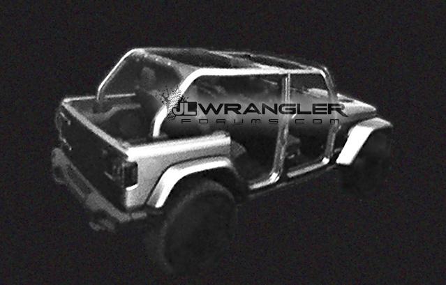 2018 JL Wrangler Rubicon Rear Image