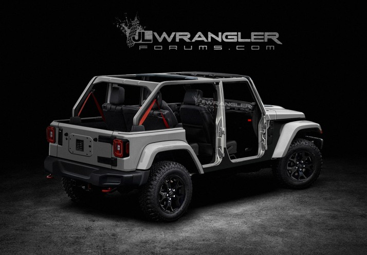 Stripped 2018 JL Wrangler Rubicon