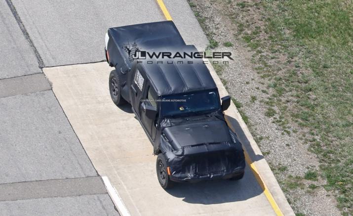 2019 JT Wrangler Truck Spy Shots
