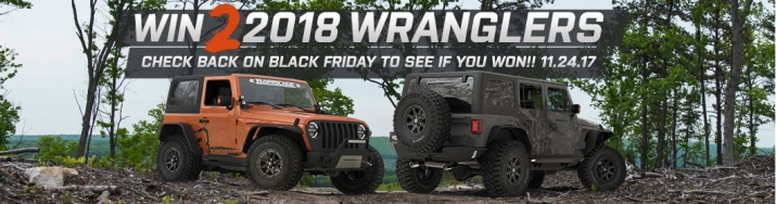 2018 JL Wrangler Giveaway with Deegan 38